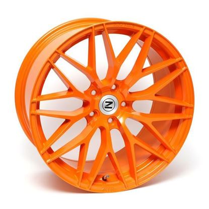 "20"" Zito ZF01 Orange Alloy Wheels"