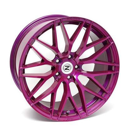 "20"" Zito ZF01 Purple Alloy Wheels"