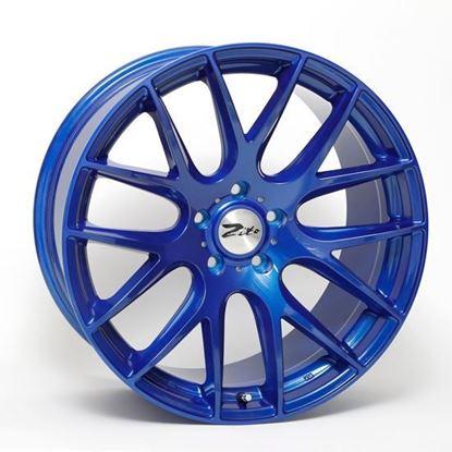 """18"""" Zito 935 Blue Alloy Wheels"""