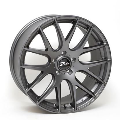 "22"" Zito 935 Matt Grey Alloy Wheels"