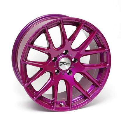 "18"" Zito 935 Purple Alloy Wheels"
