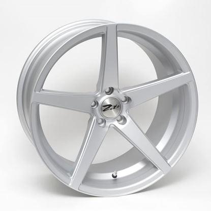 """19"""" Zito Corsica Matt Silver Alloy Wheels"""