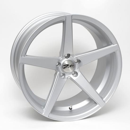"""20"""" Zito Corsica Matt Silver Alloy Wheels"""