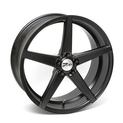 """20"""" Zito Corsica Satin Black Alloy Wheels"""