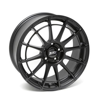 "18"" Zito DG13 Satin Black Alloy Wheels"