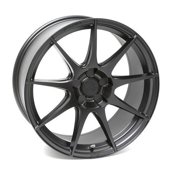 "19"" Zito ZF02 Satin Black Alloy Wheels"