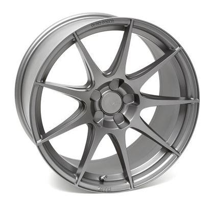 """19"""" Zito ZF02 Satin Grey Alloy Wheels"""