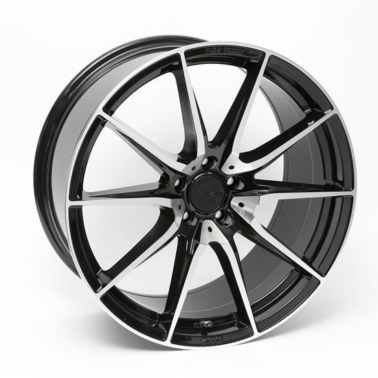 "20"" Zito ZF03 Black Polished Face Alloy Wheels"