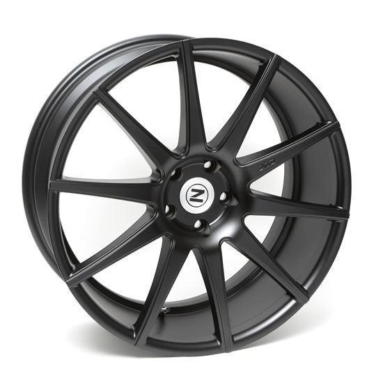 """21"""" Zito ZS03 Satin Black Alloy Wheels"""