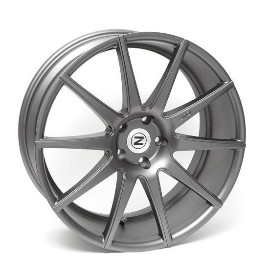 """21"""" Zito ZS03 Satin Grey Alloy Wheels"""