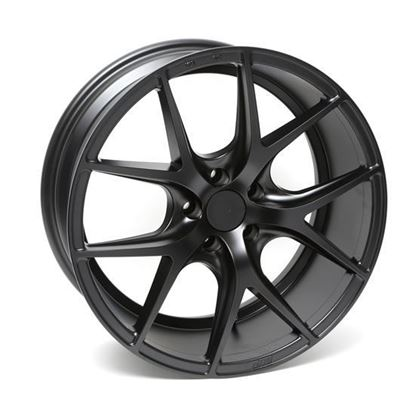"19"" Zito ZS05 Matt Black Alloy Wheels"