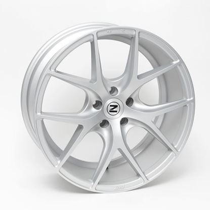 "19"" Zito ZS05 Matt Silver Alloy Wheels"