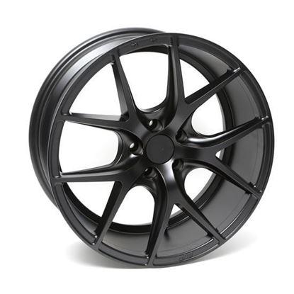 "20"" Zito ZS05 Matt Black Alloy Wheels"