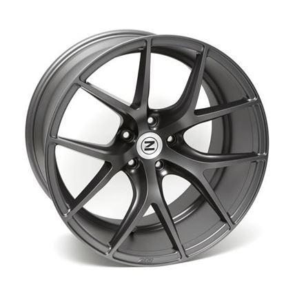 """20"""" Zito ZS05 Matt Grey Alloy Wheels"""