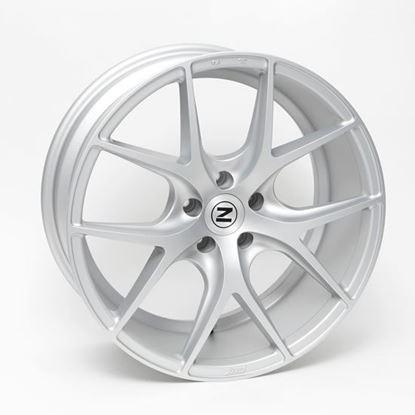 "20"" Zito ZS05 Matt Silver Alloy Wheels"
