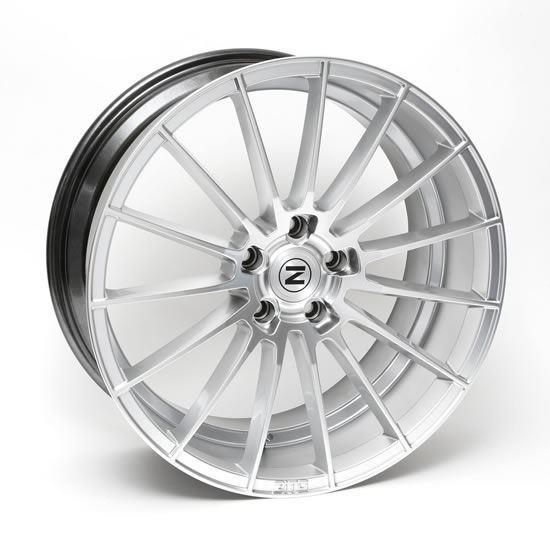 "20"" Zito ZS15 Hyper Silver Alloy Wheels"