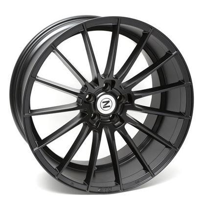 """20"""" Zito ZS15 Satin Black Alloy Wheels"""