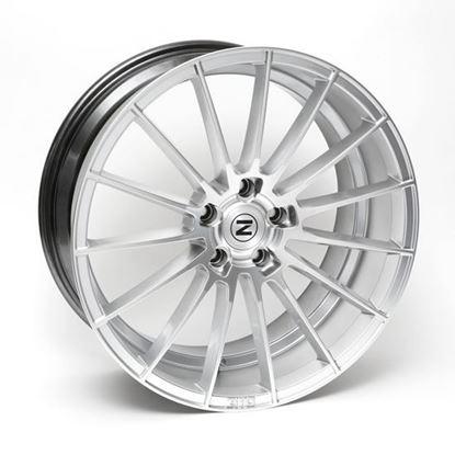 """22"""" Zito ZS15 Hyper Silver Alloy Wheels"""