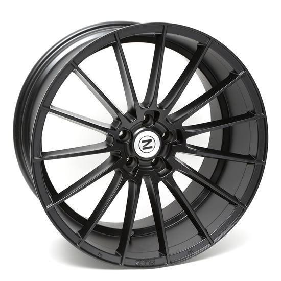 """22"""" Zito ZS15 Satin Black Alloy Wheels"""