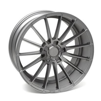 """22"""" Zito ZS15 Matt Grey Alloy Wheels"""