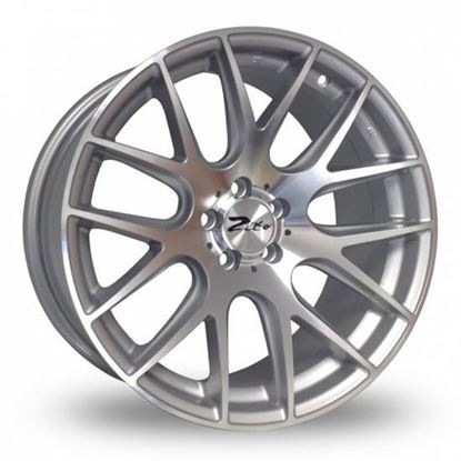 "18"" Zito 935 Silver Polished Alloy Wheels"