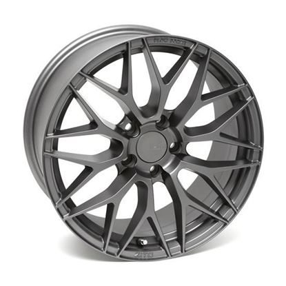 "20"" Zito ZF01 Matt Gunmetal Alloy Wheels"
