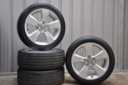 "17"" Genuine Audi A3 Sport Alloys and Tyres"