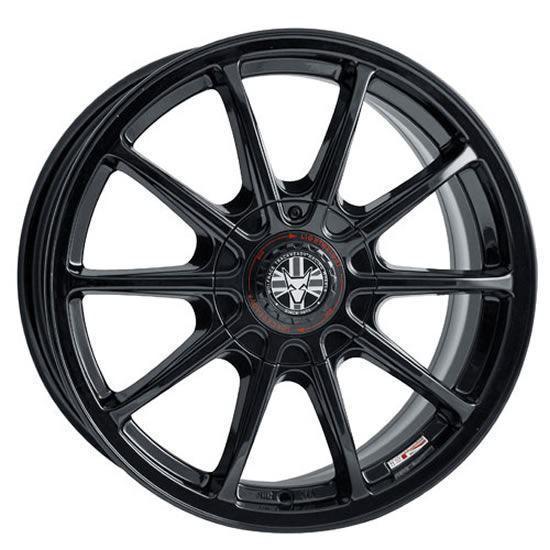 "18"" Wolfrace Pro Lite Eco 2.0 Gloss Black Alloy Wheels"