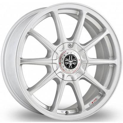 """18"""" Wolfrace Pro Lite Eco 2.0 Silver Alloy Wheels"""