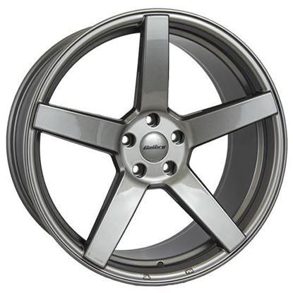 """19"""" Calibre CC-Q Gunmetal Alloy Wheels"""