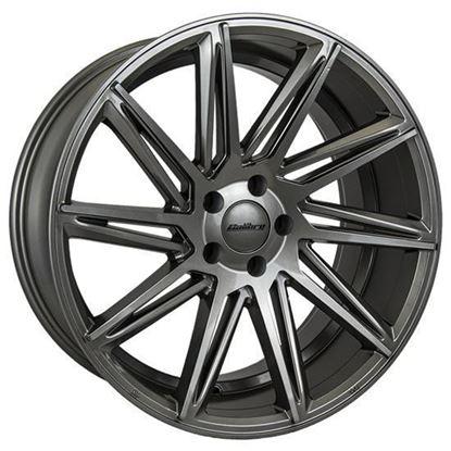 """19"""" Calibre CC-A Gunmetal Alloy Wheels"""