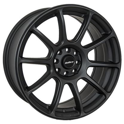 "15"" Calibre Neo Matt Black Alloy Wheels"