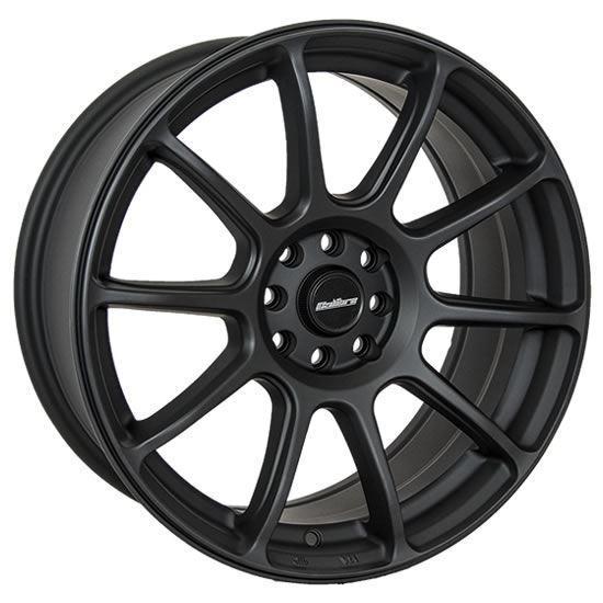 """15"""" Calibre Neo Matt Black Alloy Wheels"""