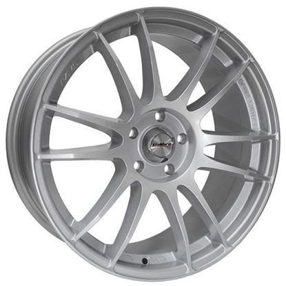 """18"""" Calibre Suzuka Silver Alloy Wheels"""