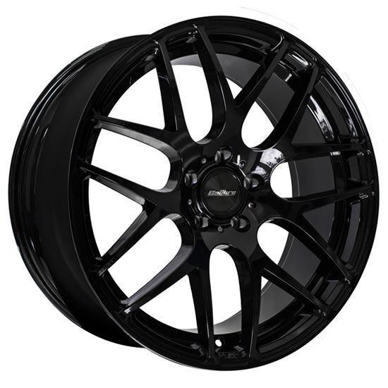 """20"""" Calibre Exile-R Gloss Black Alloy Wheels"""