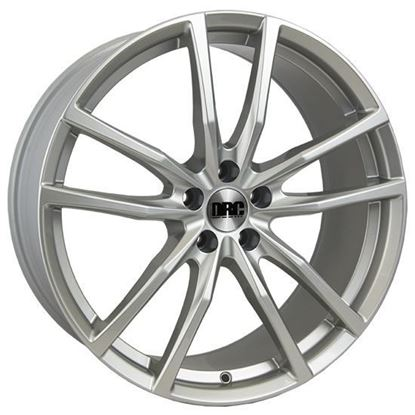 "19"" DRC DGR Silver Alloy Wheels"