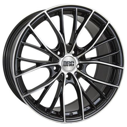 "19"" DRC DMM Black Polished Alloy Wheels"