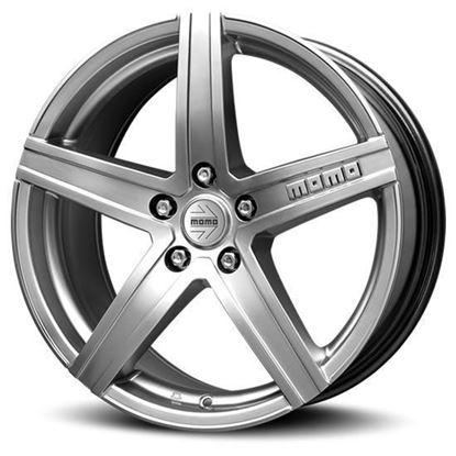 "17"" Momo Hyperstar Hyper Silver Alloy Wheels"