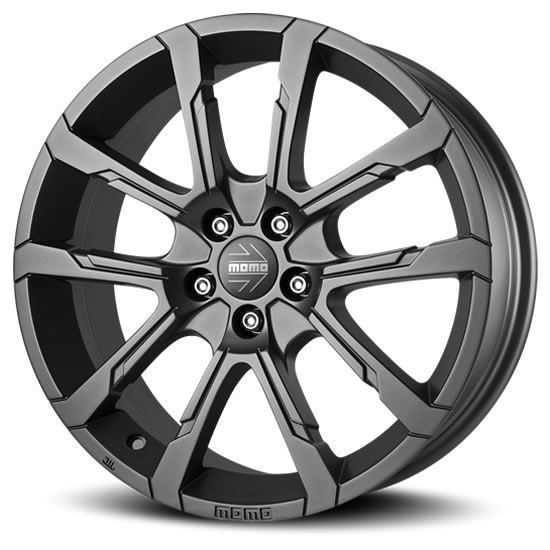 "15"" Momo Quantum Matte Anthracite Alloy Wheels"