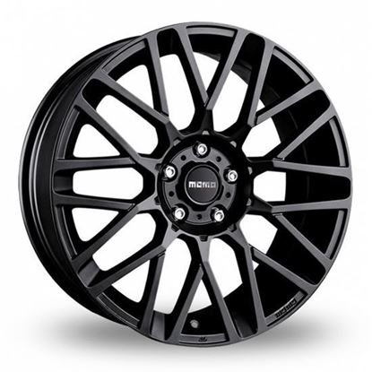 "15"" Momo Revenge Matte Black Alloy Wheels"