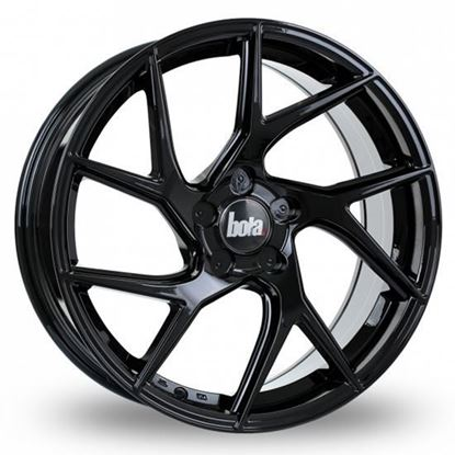 "19"" Bola FLA Gloss Black Alloy Wheels"