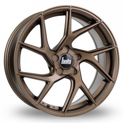 """19"""" Bola FLA Bronze Alloy Wheels"""