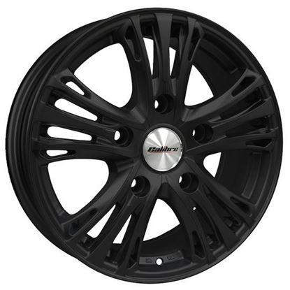 "20"" Calibre Odyssey Matt Black Alloy Wheels"