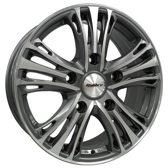 "20"" Calibre Odyssey GunMetal Polished Face Alloy Wheels"