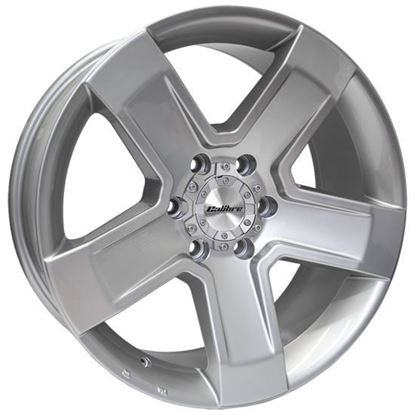 """16"""" Calibre Outlaw Silver Alloy Wheels"""