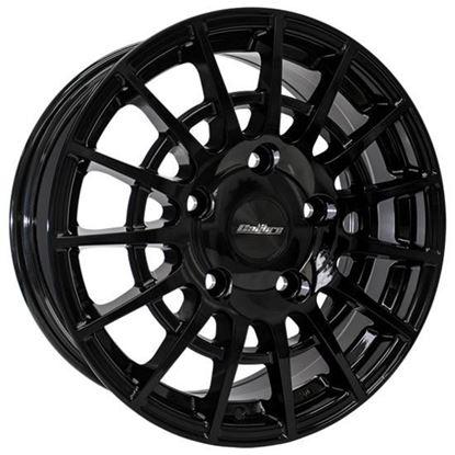 """18"""" Calibre T-Sport Gloss black Alloy Wheels"""