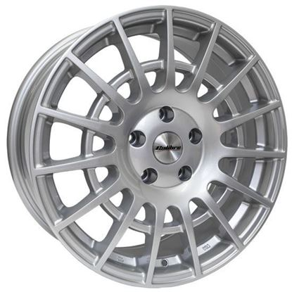 "18"" Calibre T-Sport Silver Alloy Wheels"