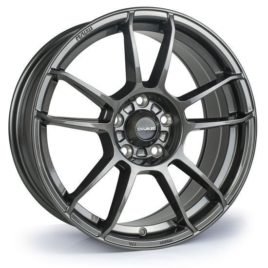 "15"" Dare DR-X5 GunMetal Alloy Wheels"