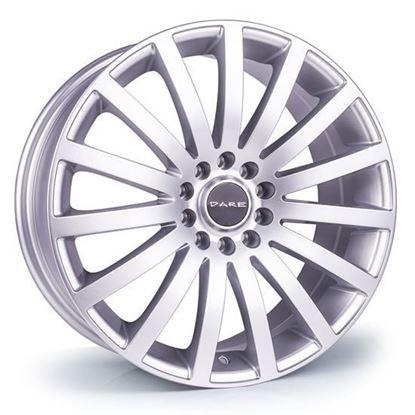 """16"""" Dare Madisson Silver Alloy Wheels"""
