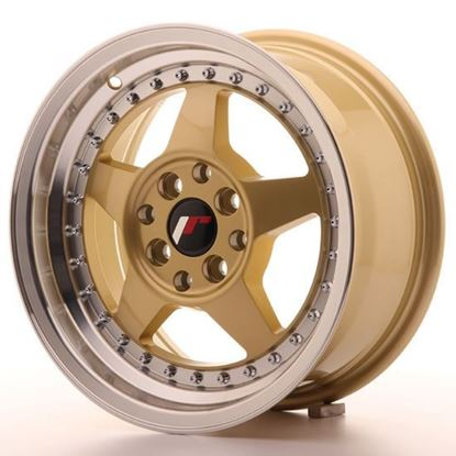 "15"" Japan Racing JR6 Gold Alloy Wheels"